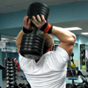 Dumbbell bench press because of the head