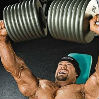 Dumbbell bench press lying