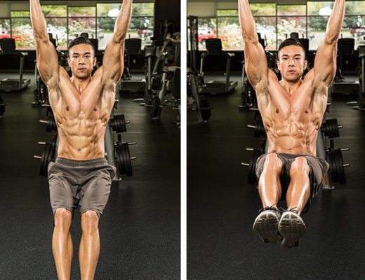 Exercise lifting legs
