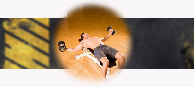 HAND BUSSING WITH DUMBBELLS