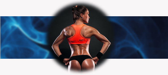 PUMP UP THE MUSCLES OF THE BACK AT HOME FOR GIRLS